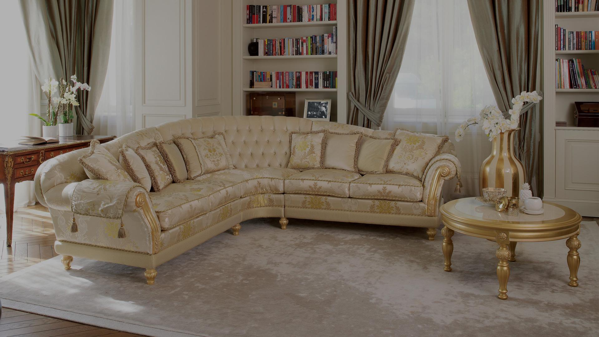 Divani Due Posti Stile Shabby : Divani classici eleganti fabulous divano bianco ad angolo