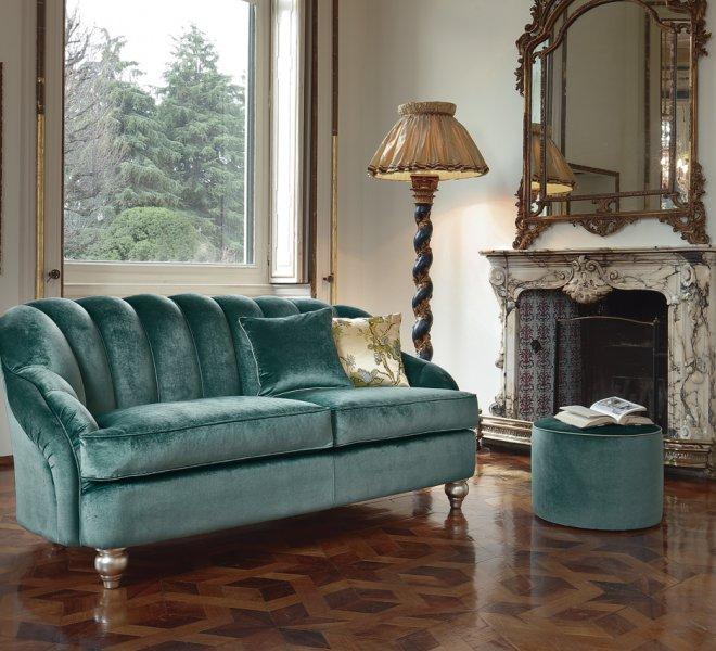 Raphael divano classico pigoli made in italy for Divano raphael
